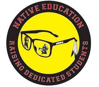 Native Education Raising Dedicated Students Logo