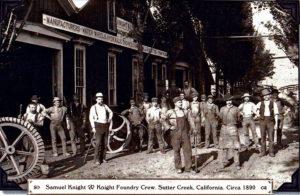 Knights Foundry crew 1890